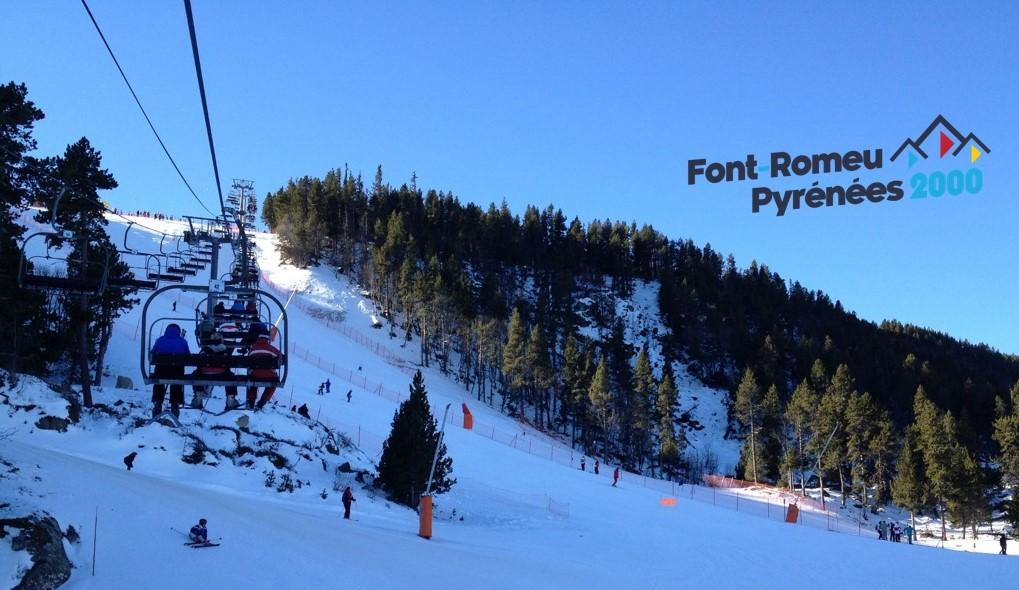 Image Station de ski de Font Romeu / Pyrénées 2000