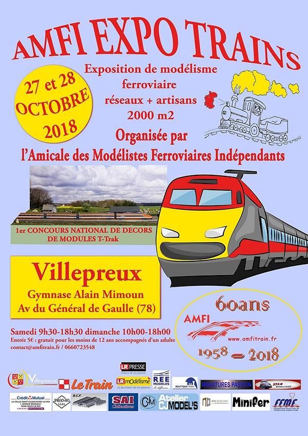 Image Exposition : des trains miniatures et des maquettes ferroviaires