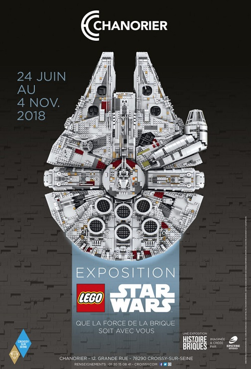 Image Exposition LEGO STAR WARS