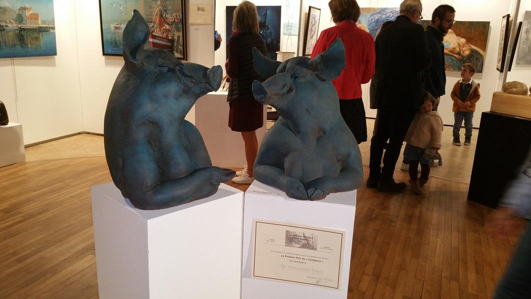 Image 53 ième Grand Prix de Barbizon - Peinture et Sculpture - Académie Jacques Boitiat