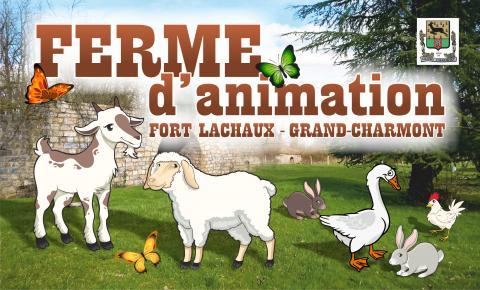 Image Visite 123 nature : ferme pédagogique du fort Lachaux