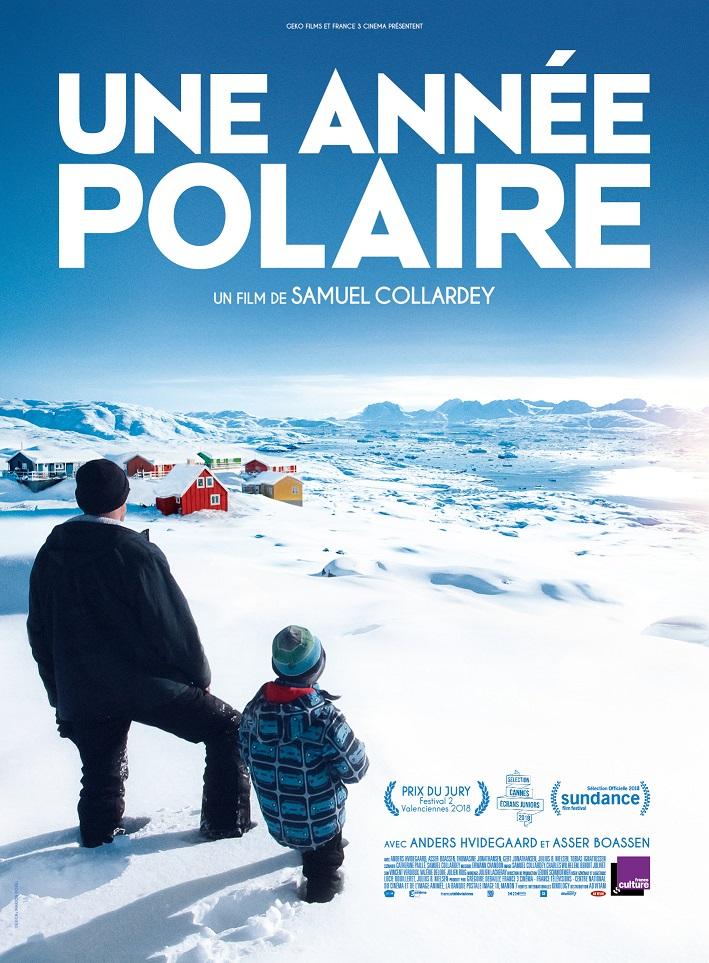Image Projection en plein air du film : Une année Polaire