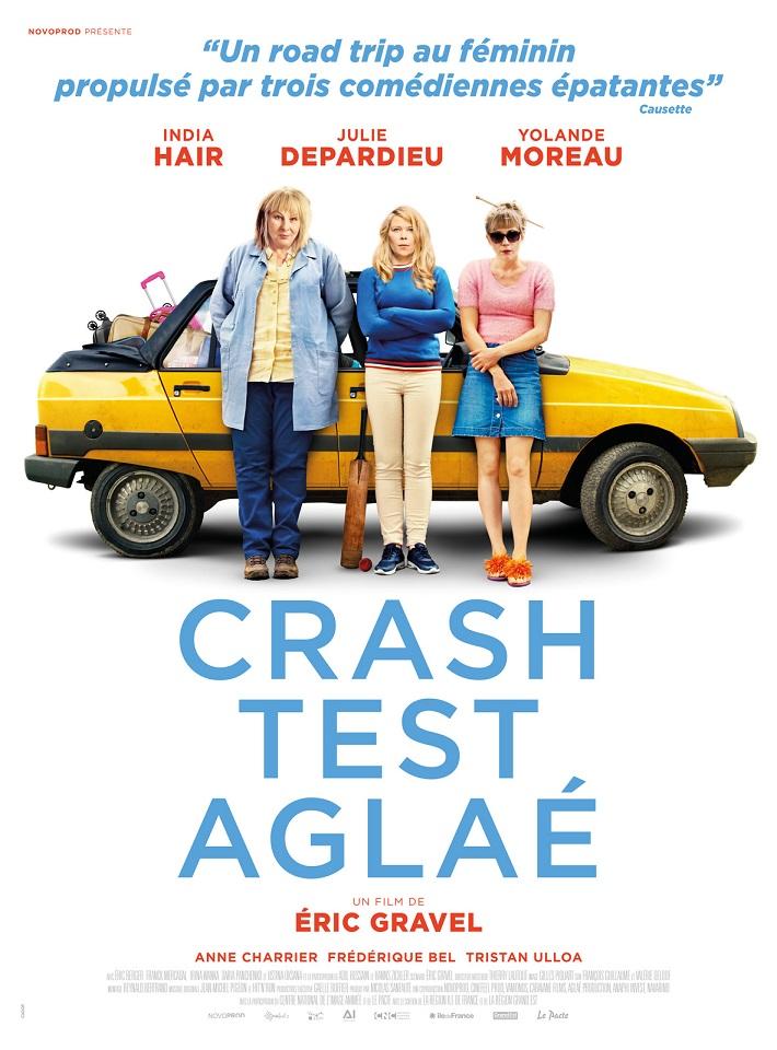 Image Projection en plein air du film : Crash test Aglaé