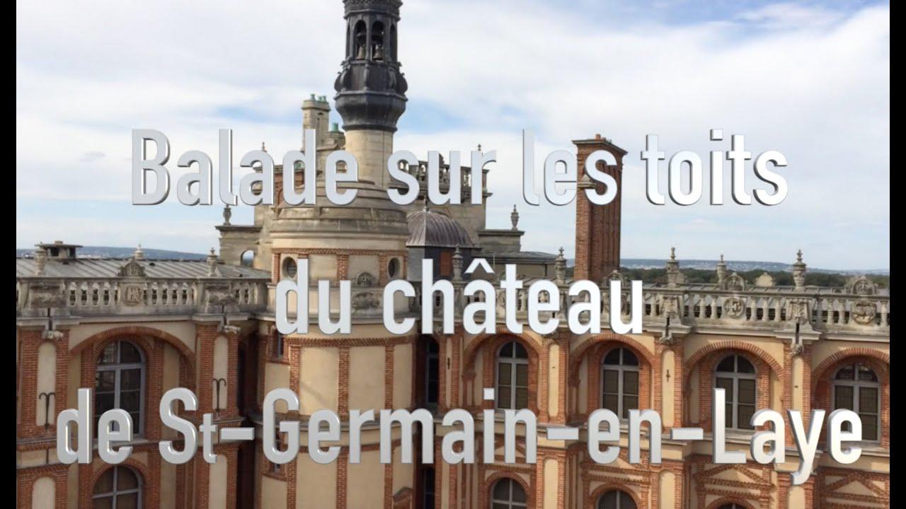 Image Visite des toits du Château de Saint Germain en Laye
