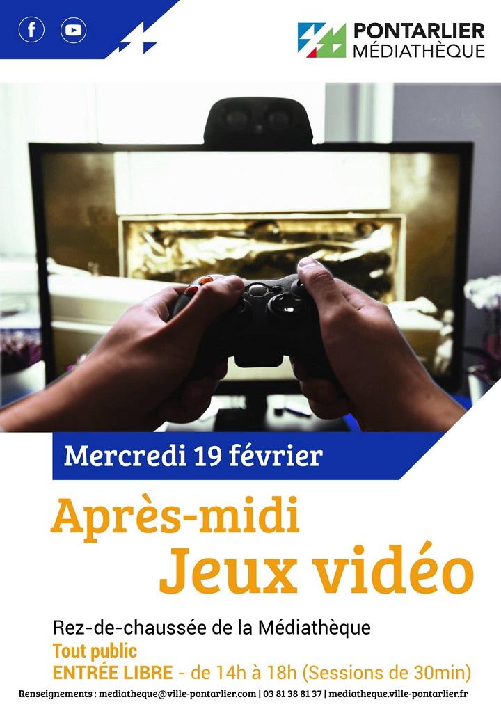 Image Après-midi jeux vidéo