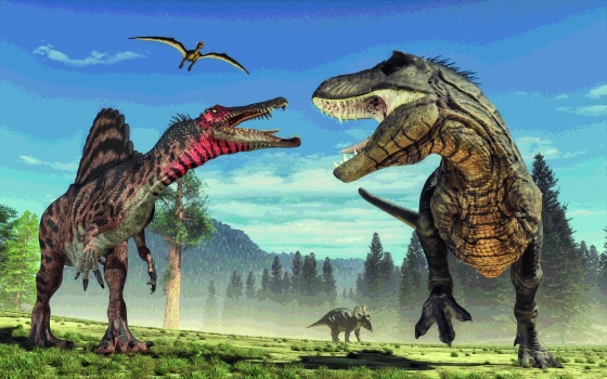 Image Fascinants dinosaures