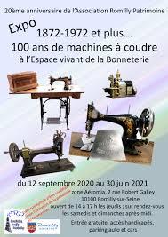 Image Exposition : 100 ans de machine à coudre