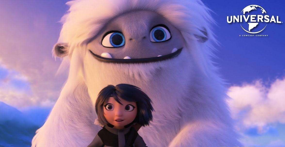 Image Projection en plein air du film Abominable