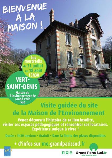 Image Visite guidée de la Maison de l'Environnement du Grand Paris Sud