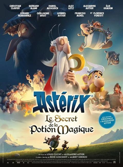 Image Projection en plein air du film : Astérix - Le secret de la potion magique