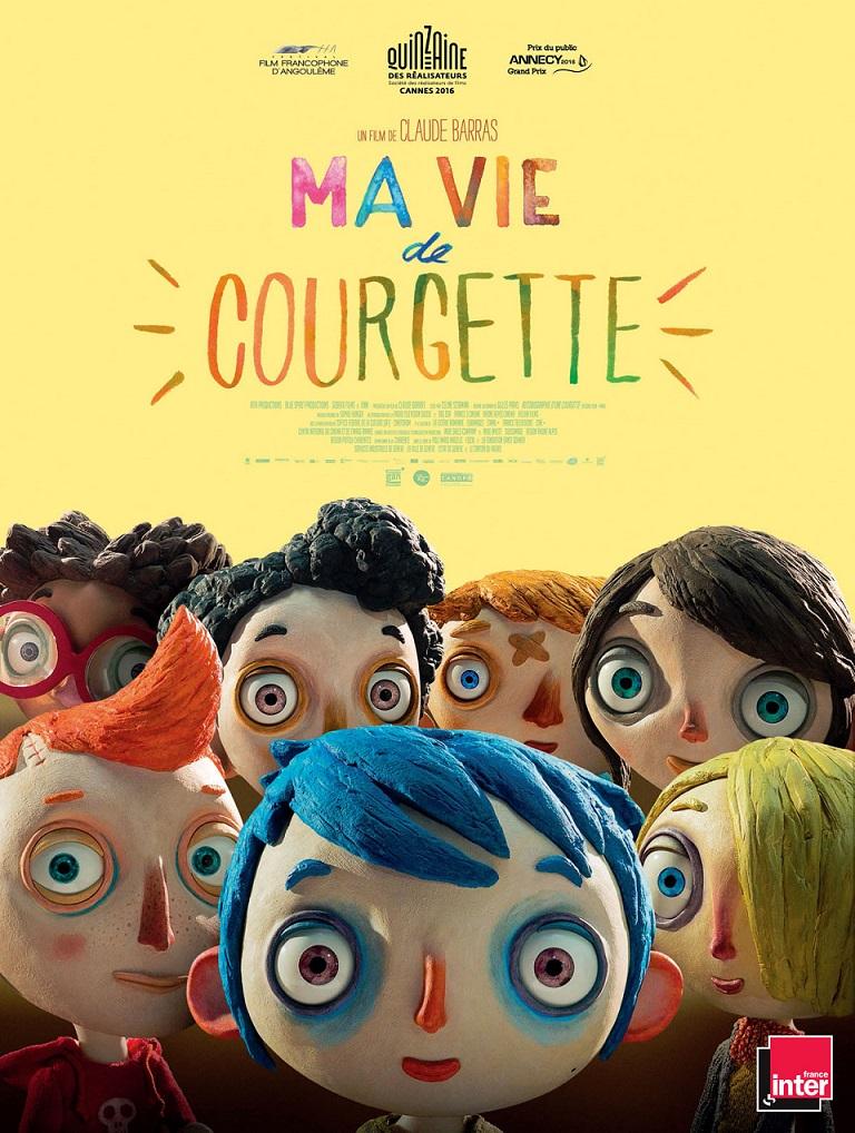 Image Projection en plein air du film : Ma vie de courgette