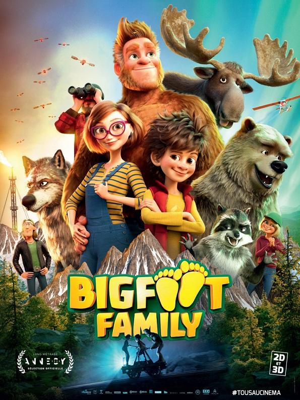 Image Projection en plein air du film : Bigfoot Family