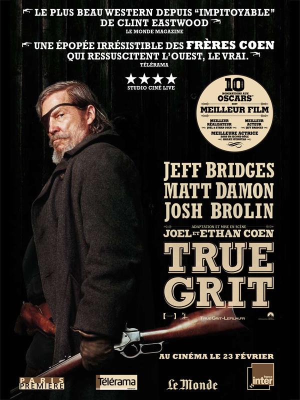 Image Projection en plein air du film : True Grit