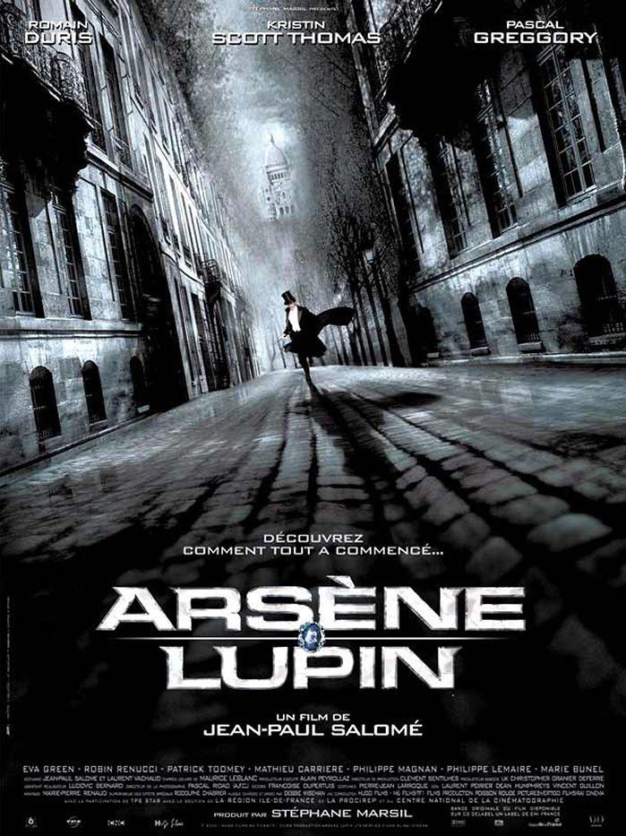 Image Projection en plein air du film : Arsène Lupin