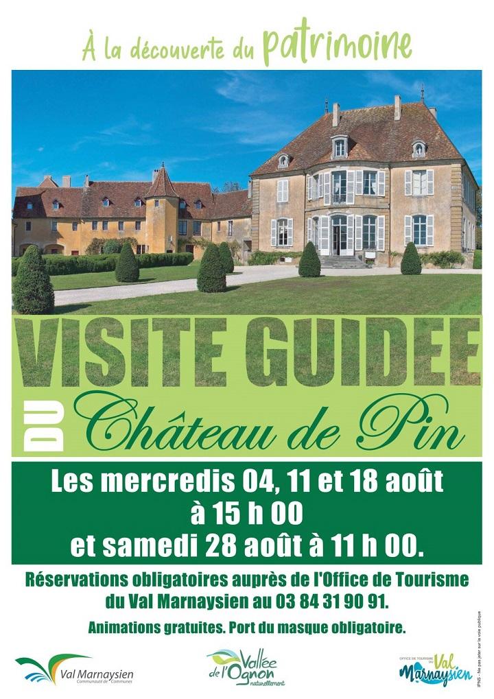 Image Visite du château de Pin