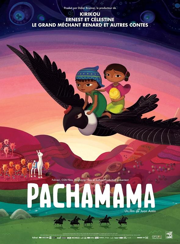 Image Projection en plein air du film : Patchamama