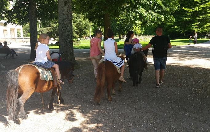 Image Une promenade à poney - Parc Micaud