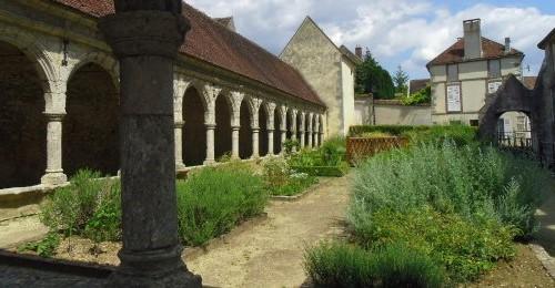 Image Jardin médiéval et église de Donnemarie-Dontilly