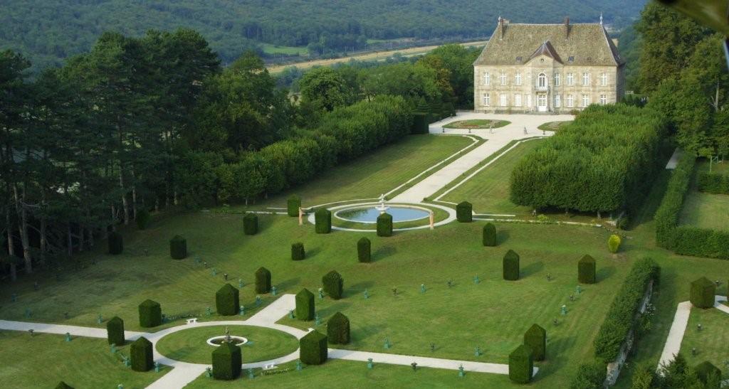 Image Jardins à la Française du Château de Vaire-Le-Grand