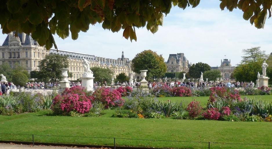 Image Le jardin des Tuileries