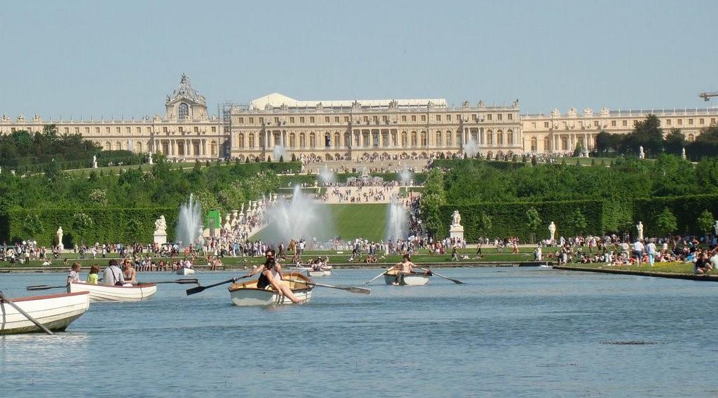 Image Location barques Château de Versailles