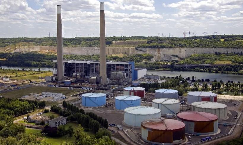 Image EDF, centre de production thermique