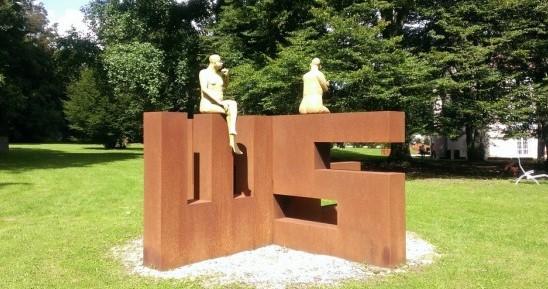 Image Parc de Sculptures Ile art à Malans