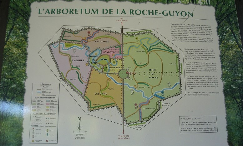 Image Arboretum de La Roche-Guyon