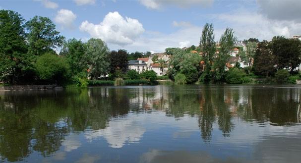 Image Jardin de l'étang Colbert
