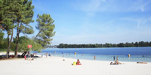 Image Plage du lac de Bordeaux