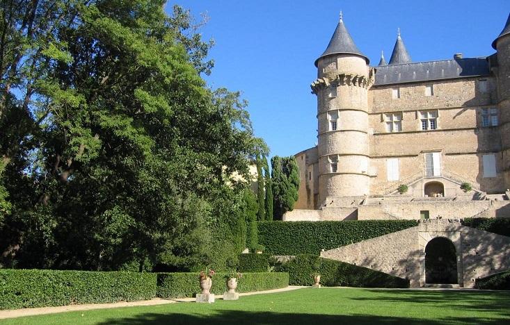 Image Jardin du château de Margon