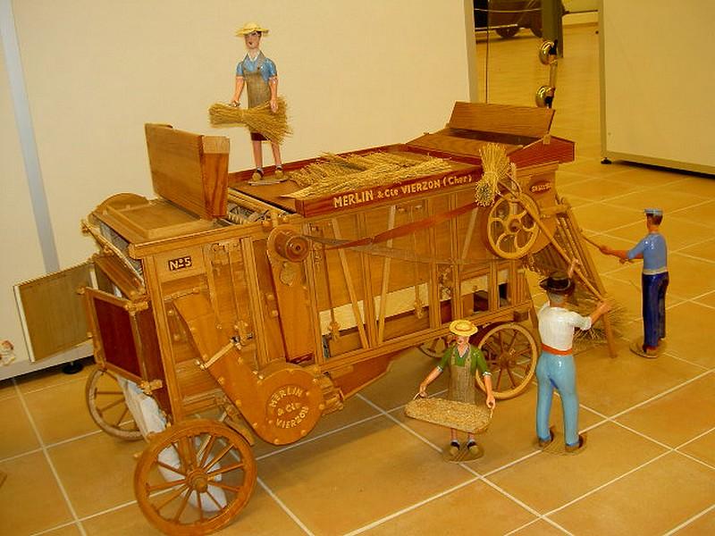 Image Musée des maquettes à nourrir et courir le monde