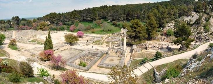 Image Site archéologique de Glanum