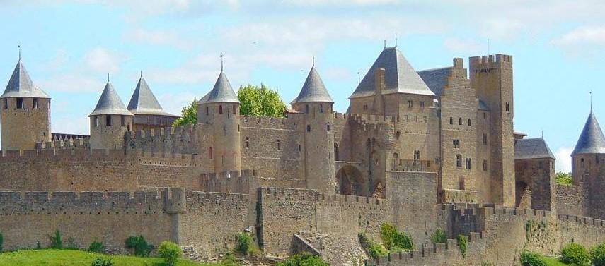 Image Château et remparts de la cité de Carcassonne