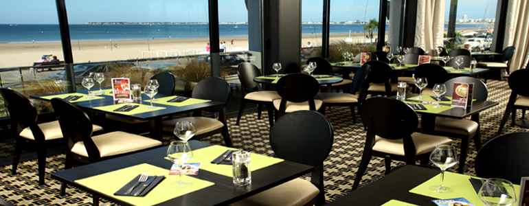 Image Le Restaurant du Casino de Pornichet - Restopolitant - Offre : Menu à 29.50€ (Entrée + Plat + Dessert + Café)