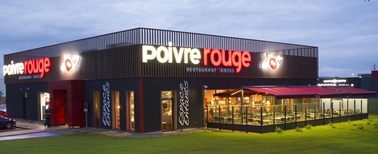 Image Poivre Rouge - Restopolitan - Offre : Entrée + Plat au choix à la Carte (hors Menu)