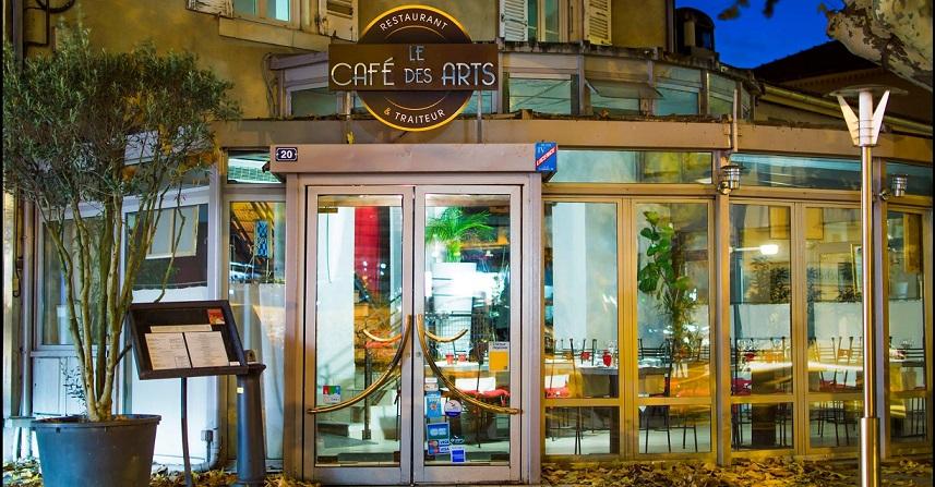 Image Café des Arts - Restopolitan - Offre : Plat + Dessert au choix à la Carte (hors Menu et hors Café gourmand)