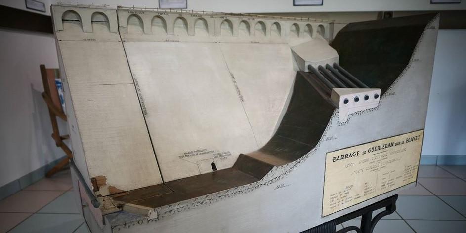 Image Musée de l'électricité : électrothèque du lac de Guerlédan