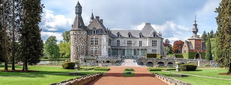 Image Jardin et parc-potager du château de Jehay