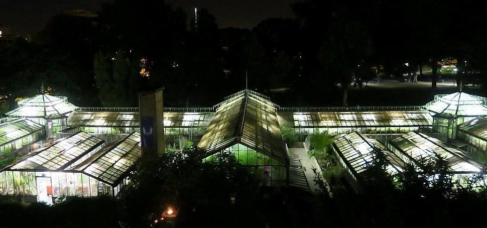 Image Serres du Jardin botanique de Liège