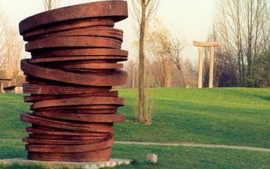 Image Le jardin de sculptures au jardin des plantes